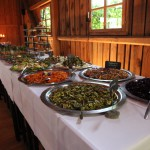 Vorspeisenbuffet - nachhaltige Hochzeit