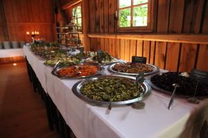 Mediterran-bayrisches Vorspeisenbuffet