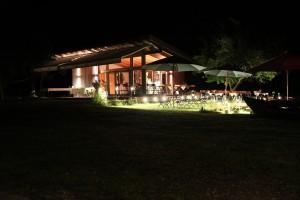 AmVieh-Theater bei Nacht