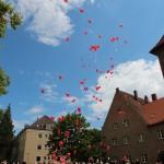 Ballons mit guten Wünschen