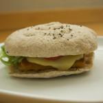 Veggie Burger mit 3D Drucker gedruckt