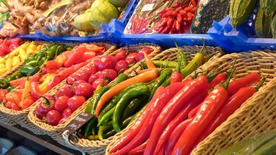 Bio Obst und Bio Gemüse