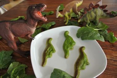 DinoQuiche mit Foodini 3D Drucker gedruckt