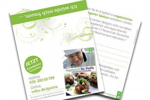 Kostenlose Restaurantkärtchen vom VEBU