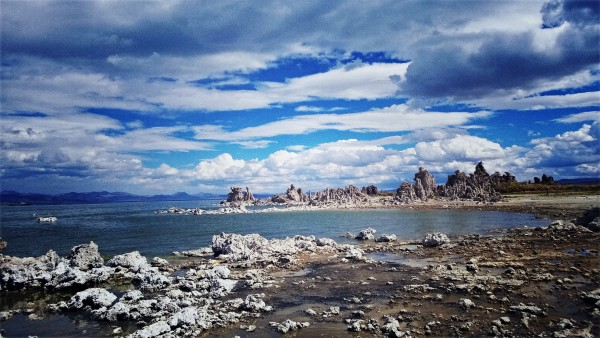 Mono Lake in Nordkalifornien