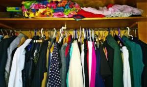 Mein Kleiderschrank Chaos