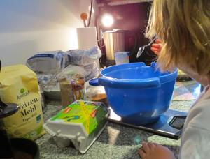 Vorbereitungen zur Kinderparty